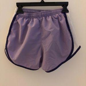 Nike Bottoms - purple nike tempo shorts